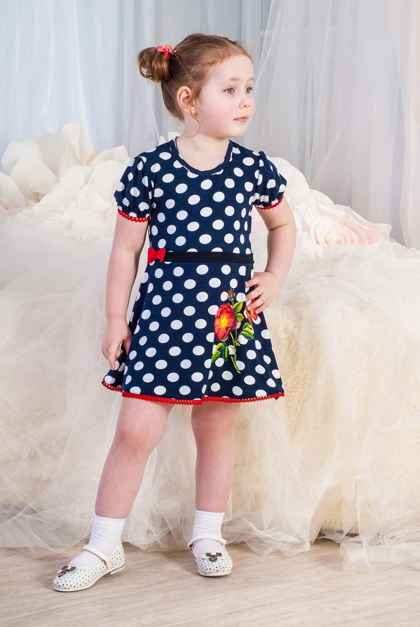 Купить детский трикотаж Платье детское Ксения Д от производителя г ... c360fcd9360